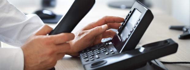 Telefon biurkowy IP, stacjonarny port ethernet