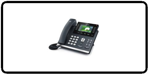 Telefon biurkowy przewodowy VoIP